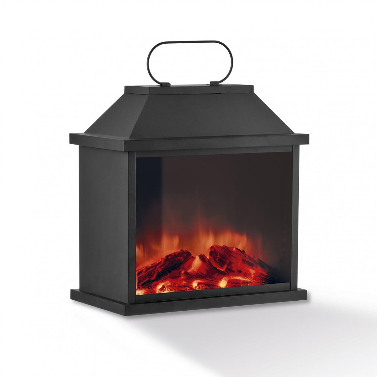 Bild 1 von EASYmaxx LED-Laterne Flamme Metall 4,5V schwarz