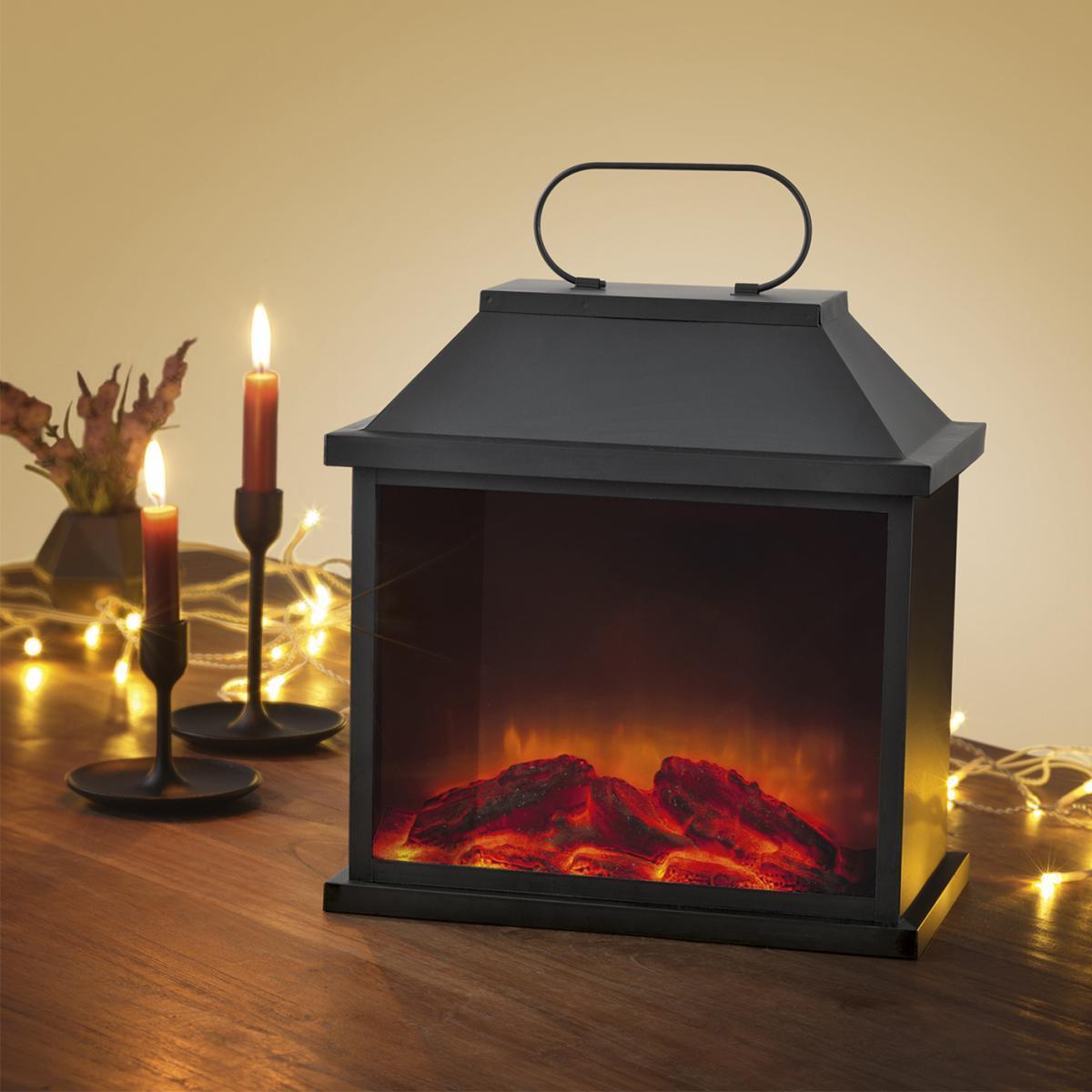 Bild 5 von EASYmaxx LED-Laterne Flamme Metall 4,5V schwarz