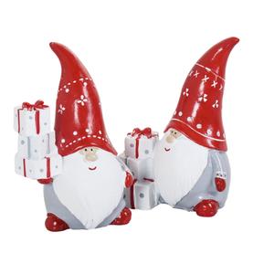 Keramik Weihnachtsmann 7 x 5 x 11 cm