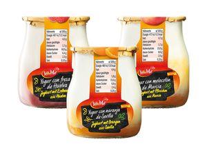 Joghurt mit Früchten aus Spanien