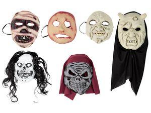 Damen Herren Halloween-Maske