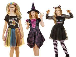 Kinder Mädchen Halloween-Kostüm