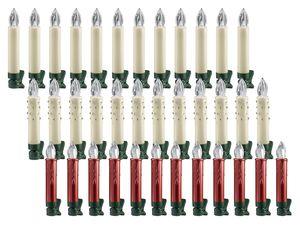 MELINERA® 12 LED-Weihnachtsbaumkerzen
