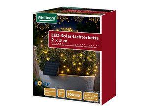 MELINERA® 2 LED-Solar-Lichterketten