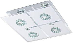 StarQ LED Deckenleuchte - 4er Platte