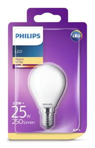 PHILIPS LED Leuchtmittel - Tropfen 25W P45 E14