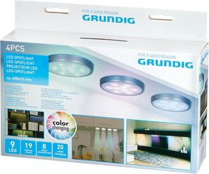 Grundig LED Spotlight 4pcs
