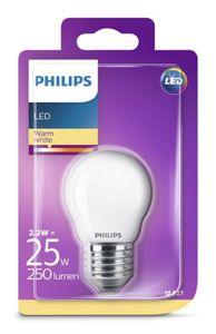 PHILIPS LED Leuchtmittel -Tropfen 25W P45 E27