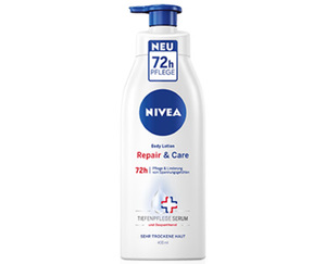 NIVEA Body Lotion Repair & Care oder Soft Milk