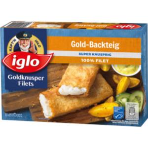 Iglo GOLDknusper Filets