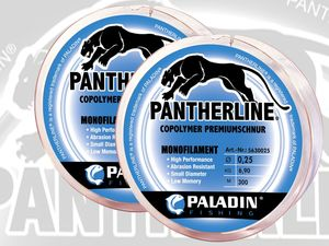 PALADIN® Angelschnur Pantherline® Clear Mono - 2er Set