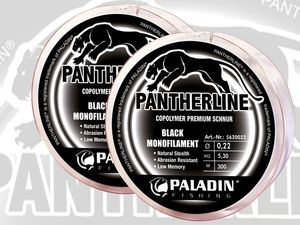 PALADIN® Angelschnur Pantherline® Black Mono - 2er Set