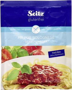 Seitz glutenfrei Fix für Spaghetti Bolognese