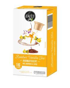 Cafet für Cremesso Rooibos Vanilla Tea