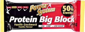 Power System Big Block Riegel Vanille 100g