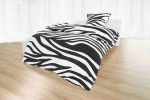 Dekor Bettwäsche Zebra, 135x200 cm