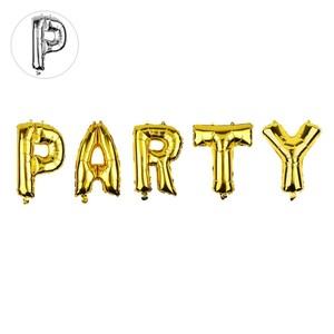 Buchstabenballons Party