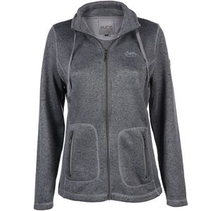 Damen Strickfleece Jacke