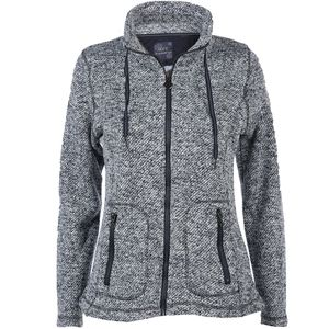 Damen Strickfleece Cardigan