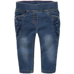 Baby Pull-on Jeans mit Rüschen