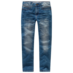 Jungen Straight-Jeans mit Used-Look