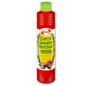 HELA Curry Gewürz Ketchup