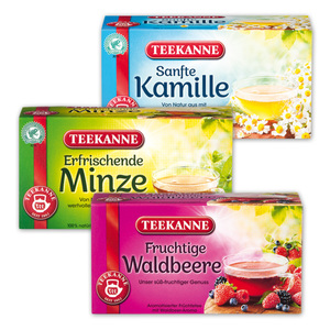 Teekanne Naturkräuter-/ Früchtetee