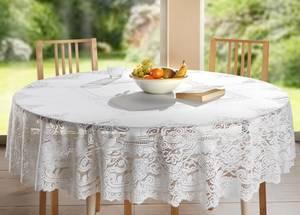 Tischdecke Bianca, rund, 160cm