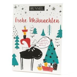 Hussel Gutschein-Adventskalender 2018 7,81 € / 100g