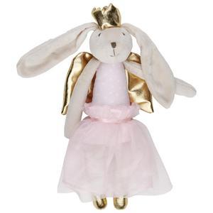 Plüschtier Bunny Weiß/blau/rosa