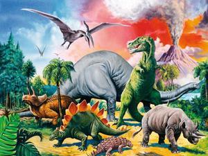 Ravensburger Puzzle Unter Dinosauriern