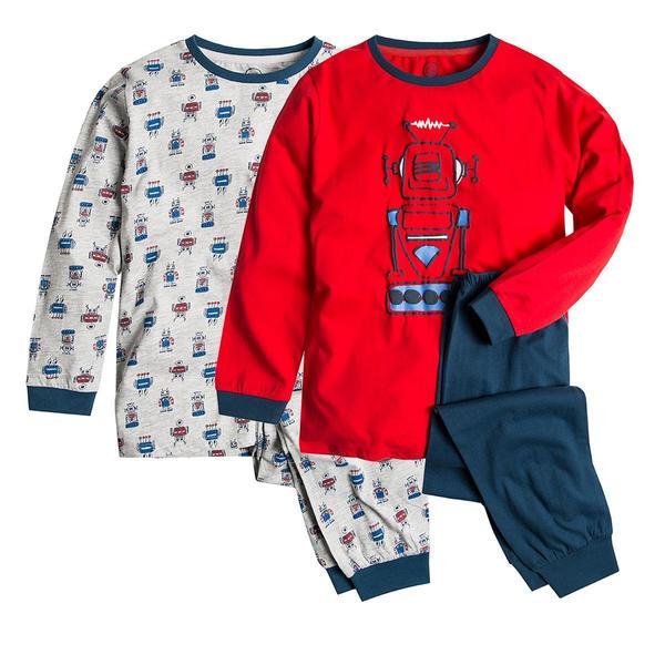 Schlafanzug 2er Pack für Jungen