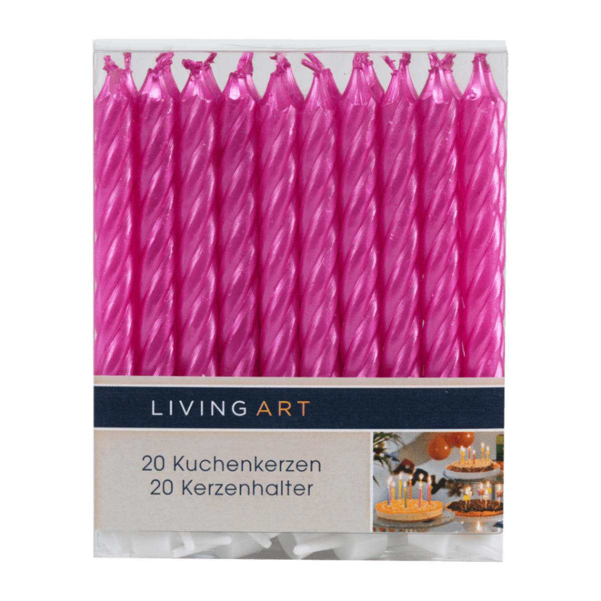 Bild 3 von LIVING ART     Kuchen- / Glückwunschkerzen