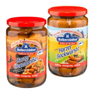 Halberstädter Harzer Hexenbeißer / Harzer Bockwürste
