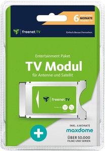 FREENET TV CI+ Entertaiment Paket (6 Monate) inkl. 6 Monate maxdome