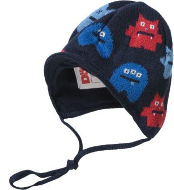 Baby Schirmmütze zum Binden Gr. 45 Jungen Baby