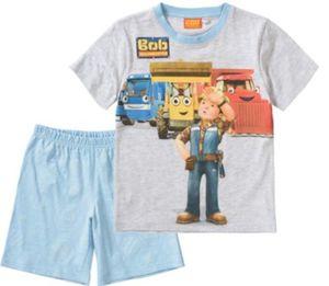Bob der Baumeister Schlafanzug Gr. 116/122 Jungen Kinder