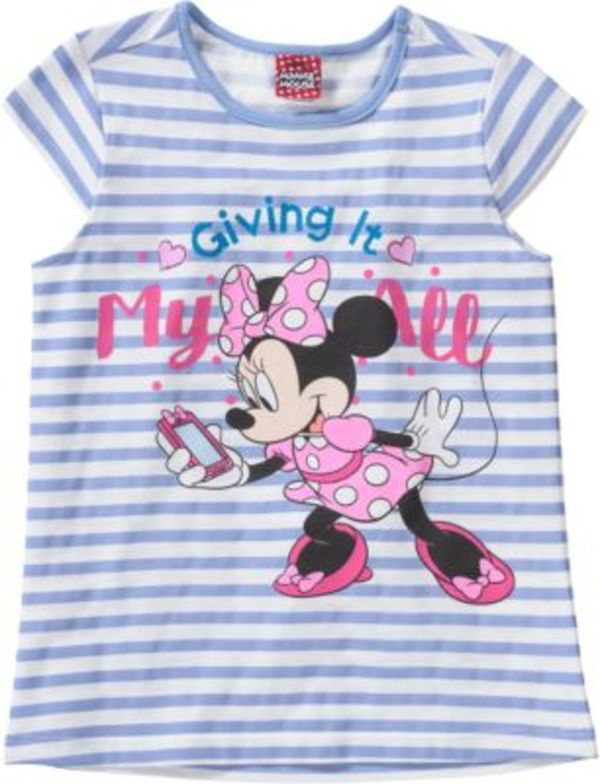 Disney Minnie Mouse T-Shirt Gr. 128 Mädchen Kinder