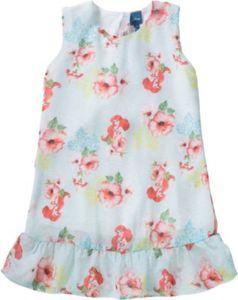 Disney Arielle die Meerjungfrau Kinder Kleid Gr. 122 Mädchen Kinder