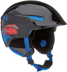 Skihelm u-kid black-blue 46-51 cm
