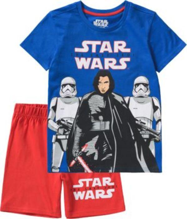 Star Wars Schlafanzug Gr. 128/134 Jungen Kinder