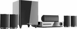 Harman/Kardon BDS 635 5.1 Heimkinosystem (3D Blu-ray Player, 350 W, WLAN, Bluetooth)