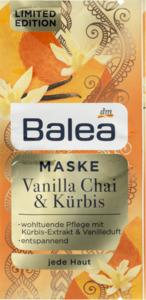 Balea Vanilla Chai & Kürbis Maske LE