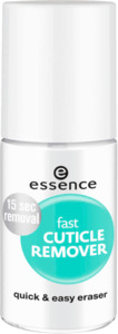 essence cosmetics Nagelhautentferner fast cuticle remover transparent