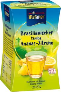 Meßmer Früchte-Tee, brasilianischer Samba mit Ananas & Zitrone (20x2,5g)
