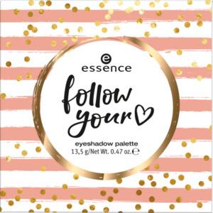 essence cosmetics Lidschatten Palette follow your eyeshadow palette