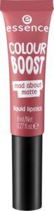 essence cosmetics Lippenstift colour boost mad about matte liquid lipstick dangerously yours 05