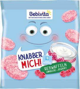 Bebivita Snack Knabber Mich! Reiswaffeln Himbeere-Joghurt ab 1 Jahr