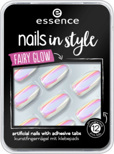 essence cosmetics Selbstklebende Kunstfingernägel nails in style touched by a fairy 05