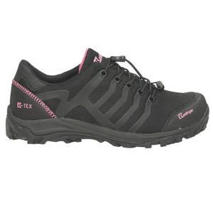 Damen Trekking Schuh, schwarz - kombiniert